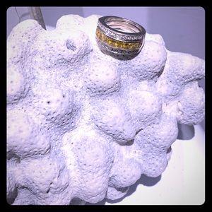 Yellow Sapphires & Diamonds & White Gold, Oh My!